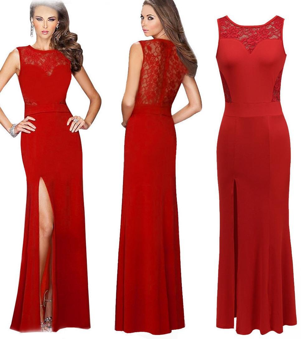 Прически для красного платья